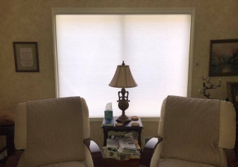 Draperies, Duette Shades, Silhouettes & Vignette Roman Shades! SmartLooks offers variety! Call us today to assist with your Window Covering project!
