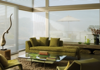 Silhouette & Nantucket Shades / Natucket Fabric Material: Boardwalk Color: Deckchair
